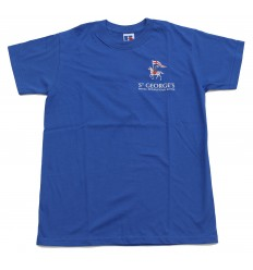 T-SHIRT HOUSE COLOUR BLUE